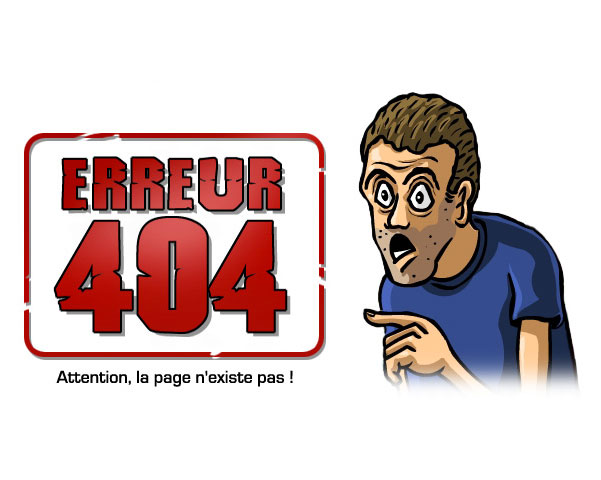 404: PAge non trouvée - Page not Found